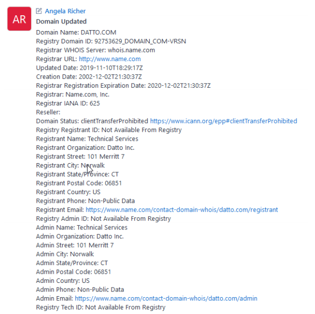 Autotask PSA Release 2020.4